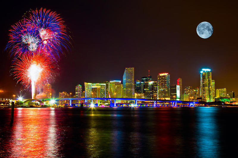 Miami Beach New Year's eve Events 2017