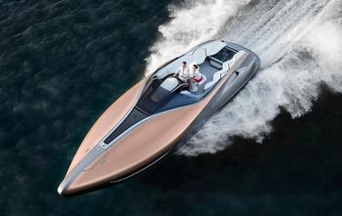 Lexus has built a yacht concept with 885bhp