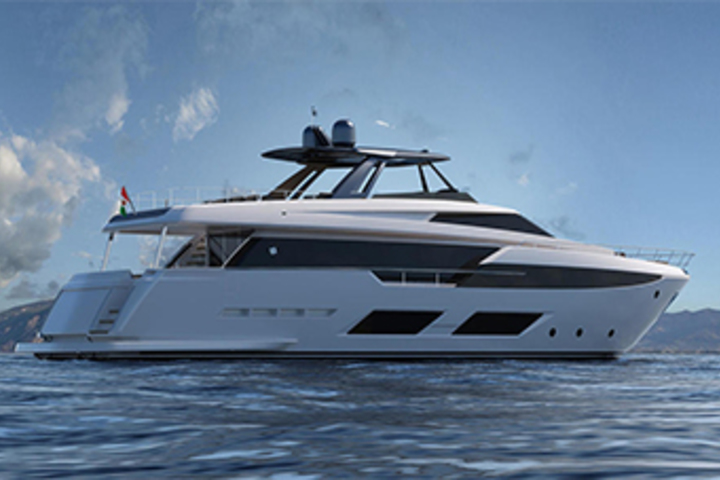 First Ferretti 920 yacht is under construction!