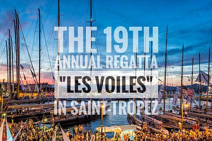 "The 19th annual regatta ""Les Voiles"" in Saint-Tropez"
