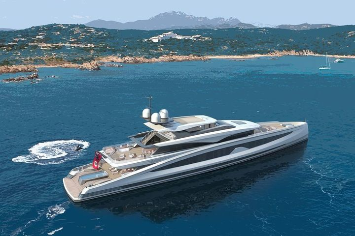 The new concept Avanti from Heesen Yachts