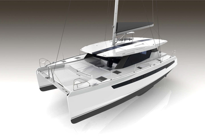New catamaran Leopard 50