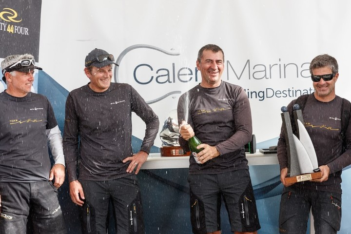 The results of the RC44 Championship Tour