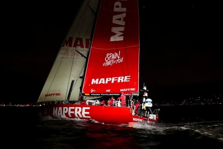 Results of the 3d stage of the Volvo Ocean Race