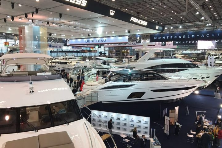New Princess's models on Boot Dusseldorf