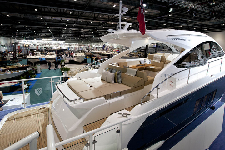 London Boat Show starts today!