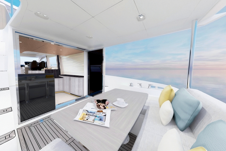 Premieres from Azimut: Atlantis 51 and 55 Fly