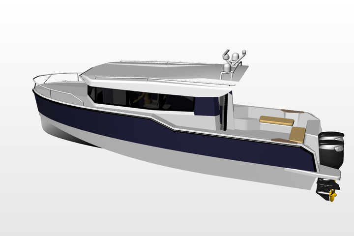 New boats from Popilov Yachts