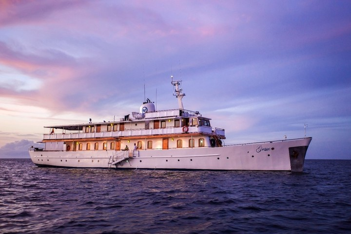 QuasarExpeditions has launched the legendary yacht
