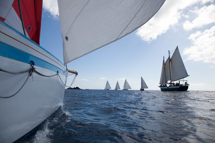 The start of the RORC Caribbean 600 in February!