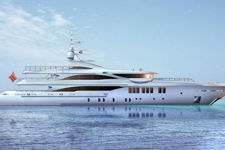 New superyacht from Golden Yachts