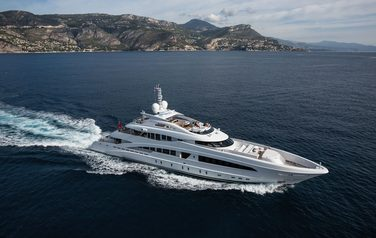 Project Ayla from Heesen Yachts was given a name