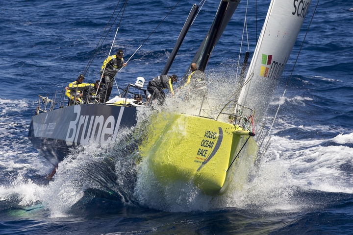 First results for the Volvo Ocean Race 2017-18