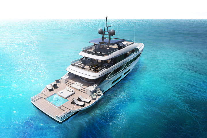 The 41-metre superyacht Oasis 135 from Benetti