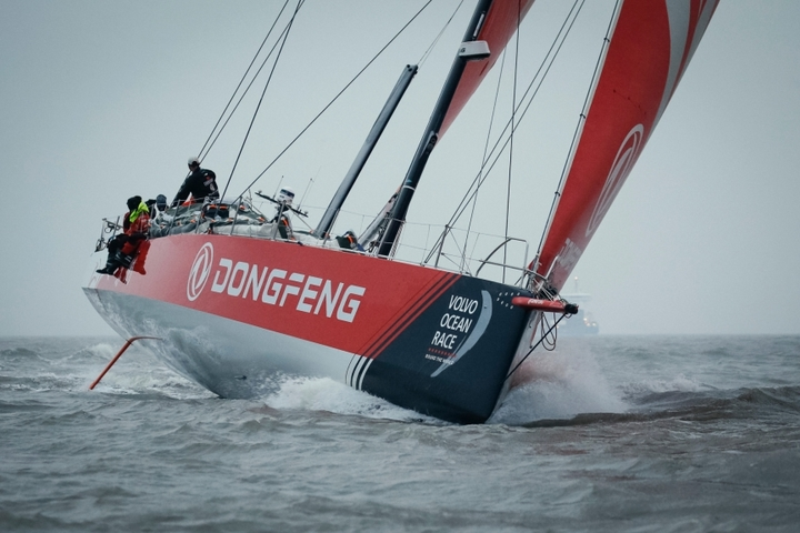 Team Brunel came first at the 9th stage of VOR