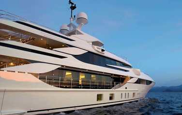 New yacht Blake from Benetti has been launched