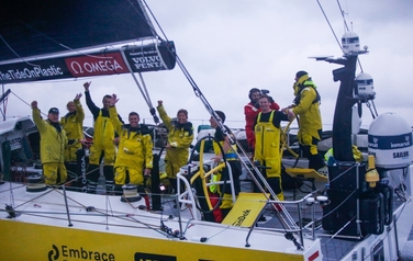 The 10 stage of VOR is ended with the victory of the team…
