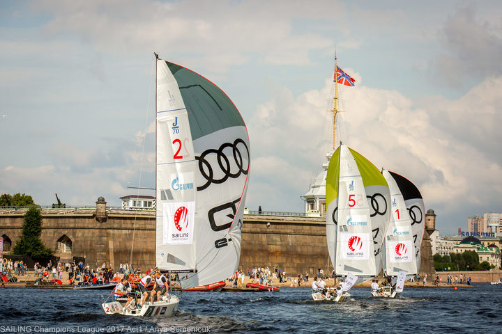 Sailing Champions League in St. Petersburg