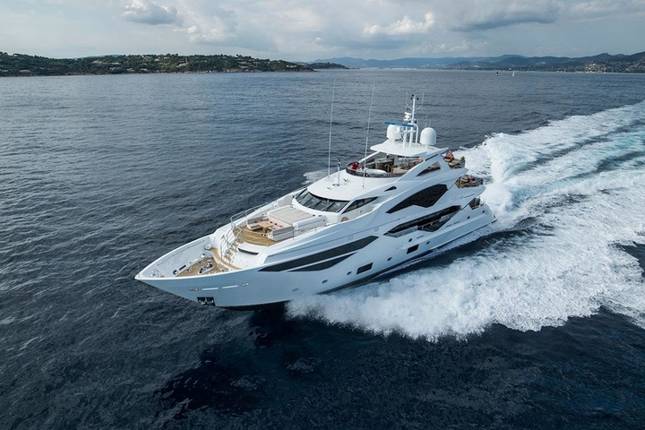 Top-7 Super Yachts at the Festival in Cannes