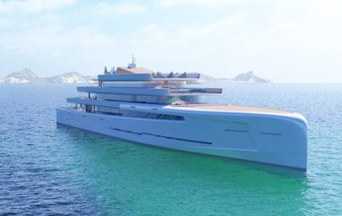 An invisible yacht will be built in Italy