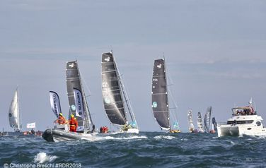 The Route de Rhum started in Saint-Malo