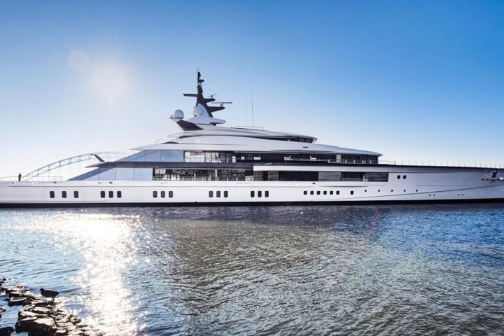 Oceanco has built a 109-meter superyacht