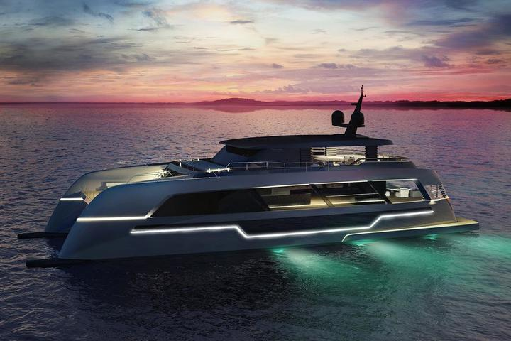 A new generation catamaran from Sunreef Yachts