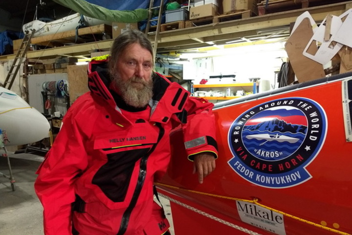 Fedor Konyukhov set out for a trip around the world