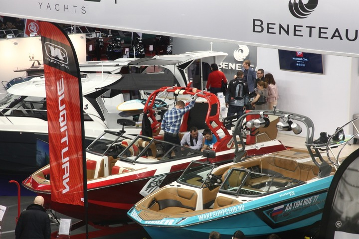 Boat show in Moscow: let's meet on March 6