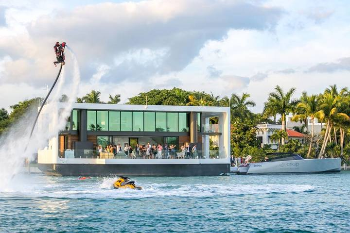 The strongest floating house in the world