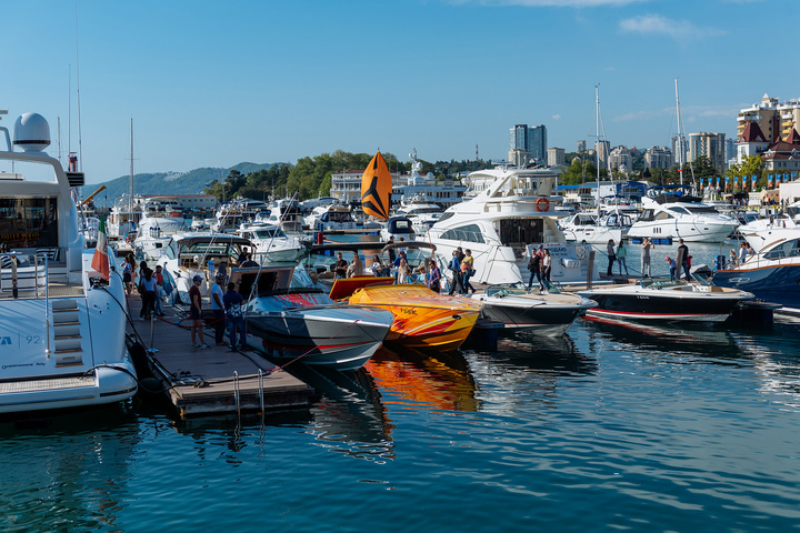 What to do on May holidays in Russia? Go to the Sochi Yacht Show