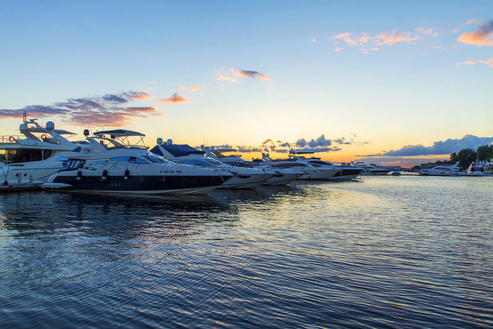 Open yacht season and Moscow Yacht Show
