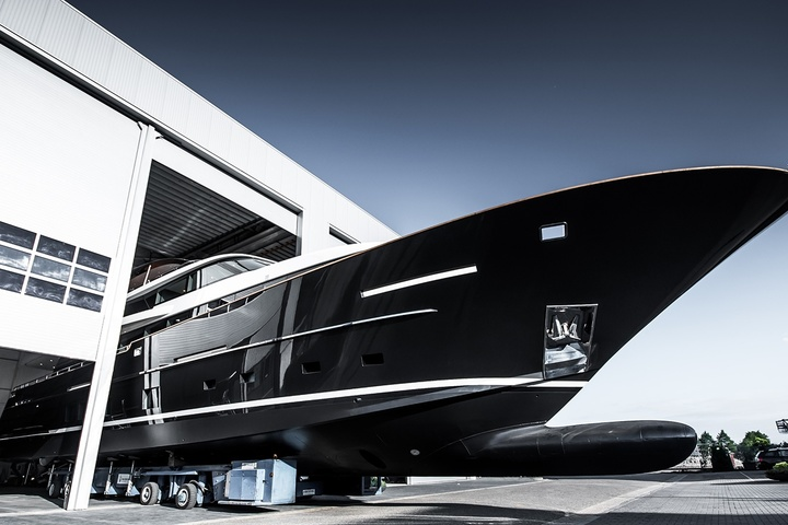 Van der Valk has launched a 32-meter yacht