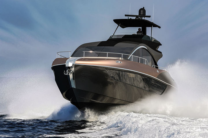 Lexus presents its first yacht model