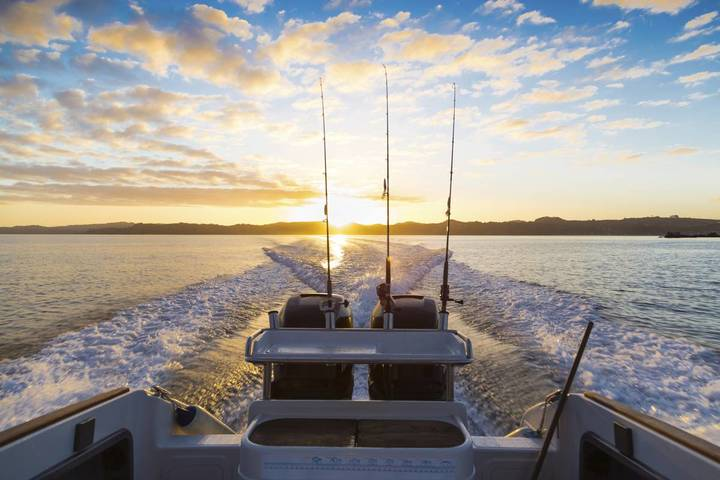 Top 5 places for fishing on a yacht in Europe