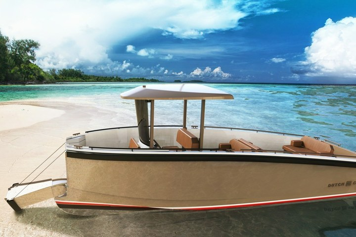 DutchCraft Reveals a Fully Electric Tender