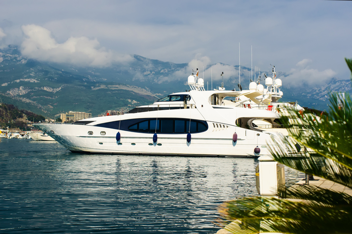 Top 5 destinations on a yacht